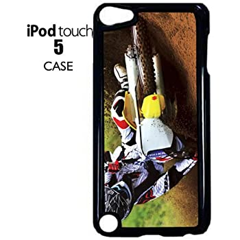 iPod Touch 5th 6th Hard Aluminum Soft Silicone Case I/'d Rather Be Riding Horse