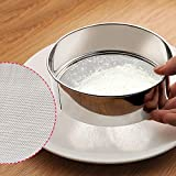 MOMA 1pcs Ultra-fine 60 Mesh Stainless Steel Flour Sieve Sifter Strainer Powder Rice Shaker Kitchen Baking Tools Accessories NEW BRAND