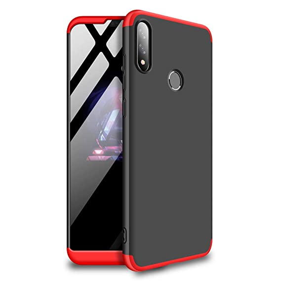 Mybloo Case for Asus Zenfone Max Pro (M2) Case, [3 in 1] 360 Degrees Full Body Protection,[Anti-Scratch] [Shockproof] Matte Ultra Slim PC Hard Case ...