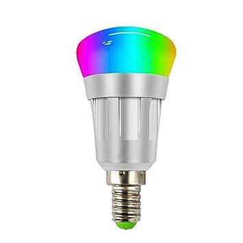 WANGLAI Bombilla Inteligente, Control de WiFi Bombillas LED ...