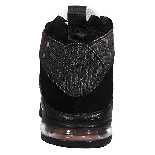 Nike Mens Air Max2 Cb 94 Basketball Shoe (7.5, Black/White-Metallic Red Bronze)
