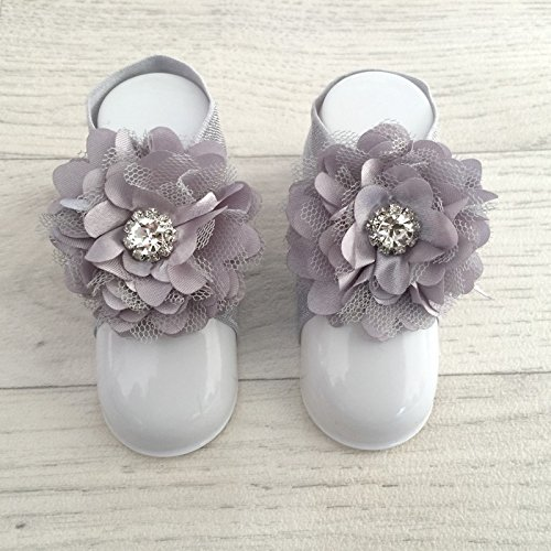 accéssoire, couvres patas modelo 'princesa' gris