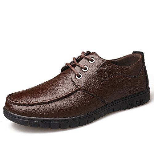 Spring Breathable Herrenschuhe Fashion Classic Casual Herrenschuhe Brown