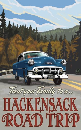 Northwest Art Mall Treat Yourself to a Hackensack Minnesota Road Trip Artwork by Paul A. Lanquist, 11-Inch by - Hackensack Mall