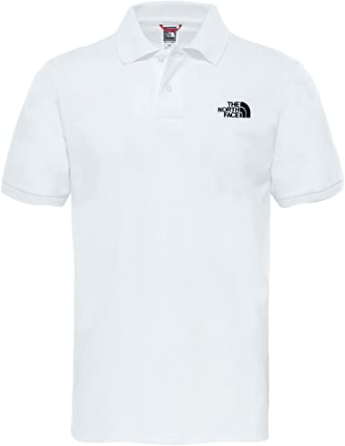 The North Face M Piquet Polo, Hombre, Blanco (TNF Whit/TNF blck ...