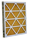 Glasfloss Industries M1112251 Z-Line Series MR-11 Pleated Filter, 12-Pack