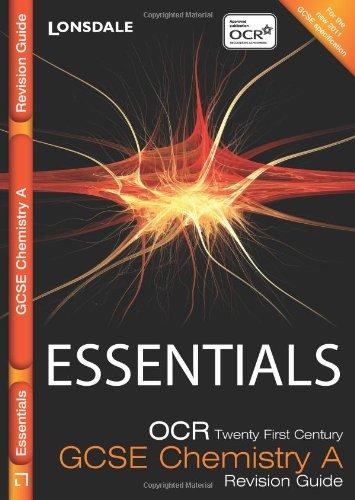Read Online OCR 21st Century Chemistry a (Collins Gcse Essentials) PDF