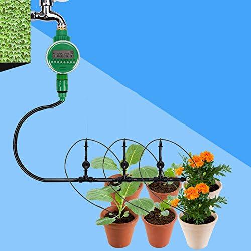 Percetey BewässerungsSystem,LCD-Bewässerungs-Schlauch-Timer-Prüfer-Wasser-Programm-Bewässerungs-Ausrüstung,Zeitgesteuerte Bewässerungsmaschine, künstliche Intelligenz, automatische Bewässerung