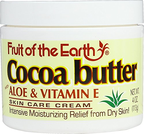 Cocoa Buttercream Jar - Fruit of the Earth Cocoa Butter Cream Jar, 4 oz.