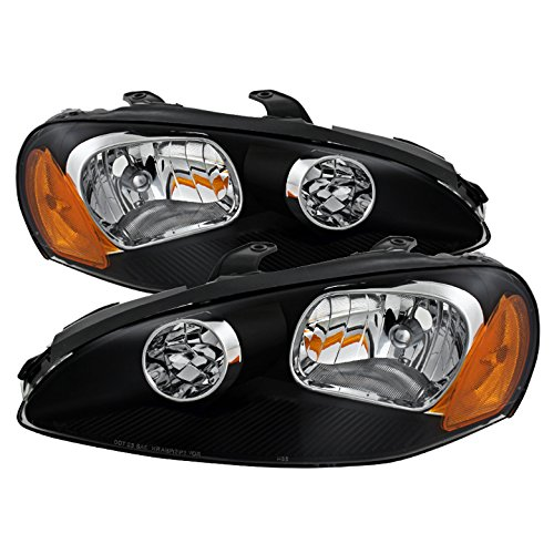 - Jdragon for Dodge 2003-2005 Stratus 2Dr Coupe Black Housing Replacment Headlights R/T SE SXT