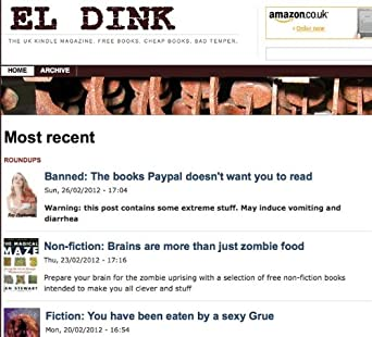 Amazon Com El Dink The Uk Kindle Magazine El Dink
