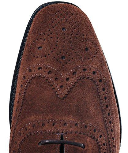 Braun Polo Loake Brogues Braun Buckingham Herren Wildleder OOwqX1