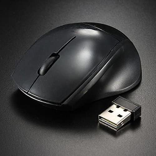 Yamalans 2.4GHz Wireless Optical Cordless Mouse USB Receiver for Computer PC Laptop