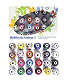 Robison-Anton Rayon Embroidery Top 24 Colors Thread (Set of 24)