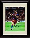 Framed Lionel Messi Autograph Replica Print - Great Ever? - Spanish Club Barcelona