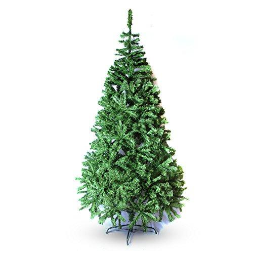 Perfect Holiday Christmas Tree, 7-Feet, PVC Classic Evergreen