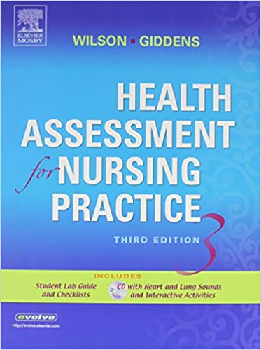 Gratis google bøker nedlasting Health Assessment for Nursing Practice - Text and Mosby's Nursing Video Skills: Physical Examination and Health Assessment Package, 3e PDF 0323053912