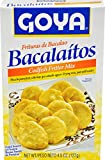 Goya Foods Bacalaitos Codfish Fitters Mix, 4.5 Ounce