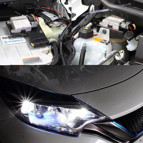 BELLOF(ベロフ) HID ノート e-power専用 ヘッドライト HIDシステム 理想的な白さと明るさを実現 SPK 6000K BMA431 B074XFHWZ4  6000k