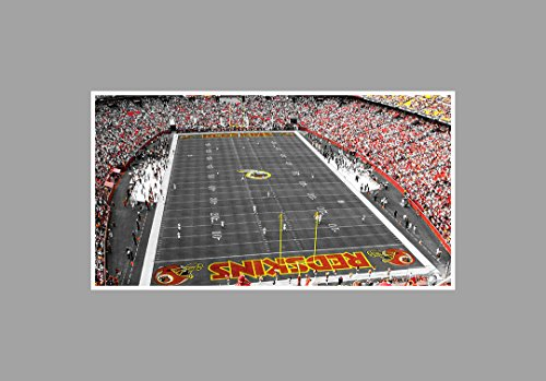 fedex-field-football-touch-of-color-36x20-matte-poster-print-wall-art-toc