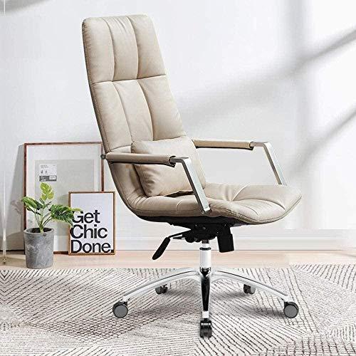 Kontorsstol, hög rygg verkställande svängbar stol dator skrivbord uppgift stol hem kontor mötesrum bank fåtölj
