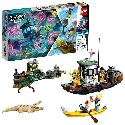 LEGO Hidden Side Wrecked Shrimp Boat 70419 Building Kit, App Toy for 7+ Year Old Boys and Girls, Interactive Augmented Reality Playset, New 2019 (310
