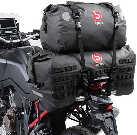 Motorrad Hecktasche Set Bagtecs Sx70 Xf40 Volumen 110 L Dry Bag Wasserdicht Auto