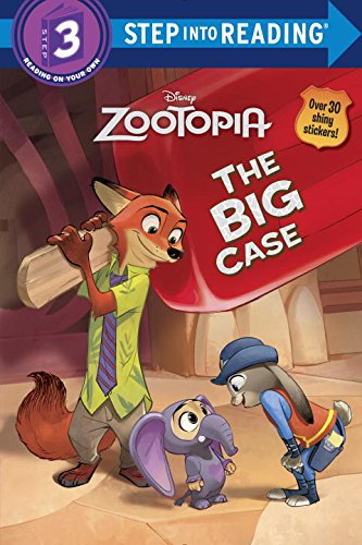 The Big Case (Disney Zootopia) (Step into Reading)