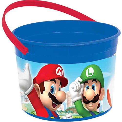 amscan Super Mario Brothers Container, Party Favor]()