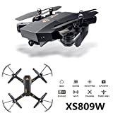 Cewaal FPV Drone with 1080P Camera Live Video,Foldable Arm Altitude Hold Headless Drone for Kids & Beginners