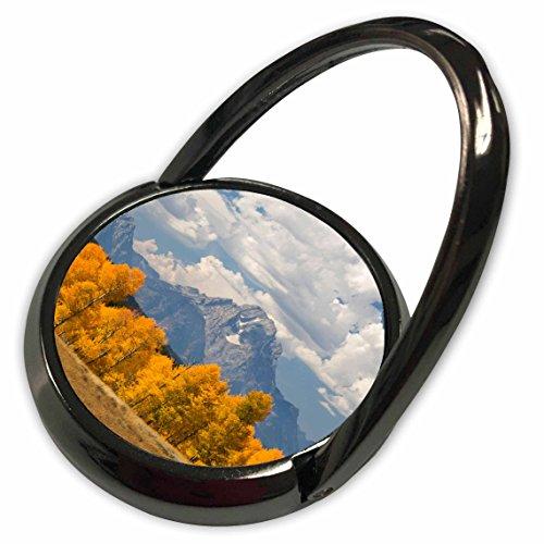 3dRose Danita Delimont - Wyoming - Wyoming, Grand Teton NP, Aspens, Mt Moran - US51 JWI0465 - Jamie and Judy Wild - Phone Ring (Mt Moran Grand)