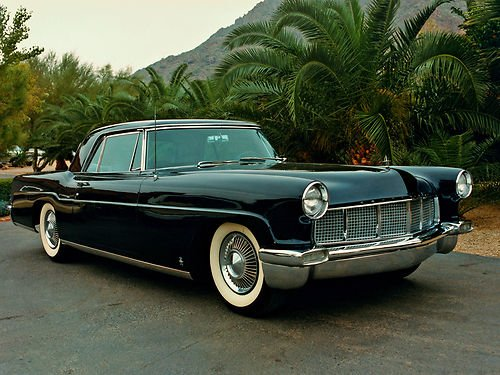 1956 Lincoln Mark Continental - 1956 Lincoln Continental Mark II 11x14
