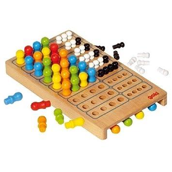 Mastermind Large Wooden Mastermind Game Classic Childrens Games Boys Simple Wooden Mastermind Game