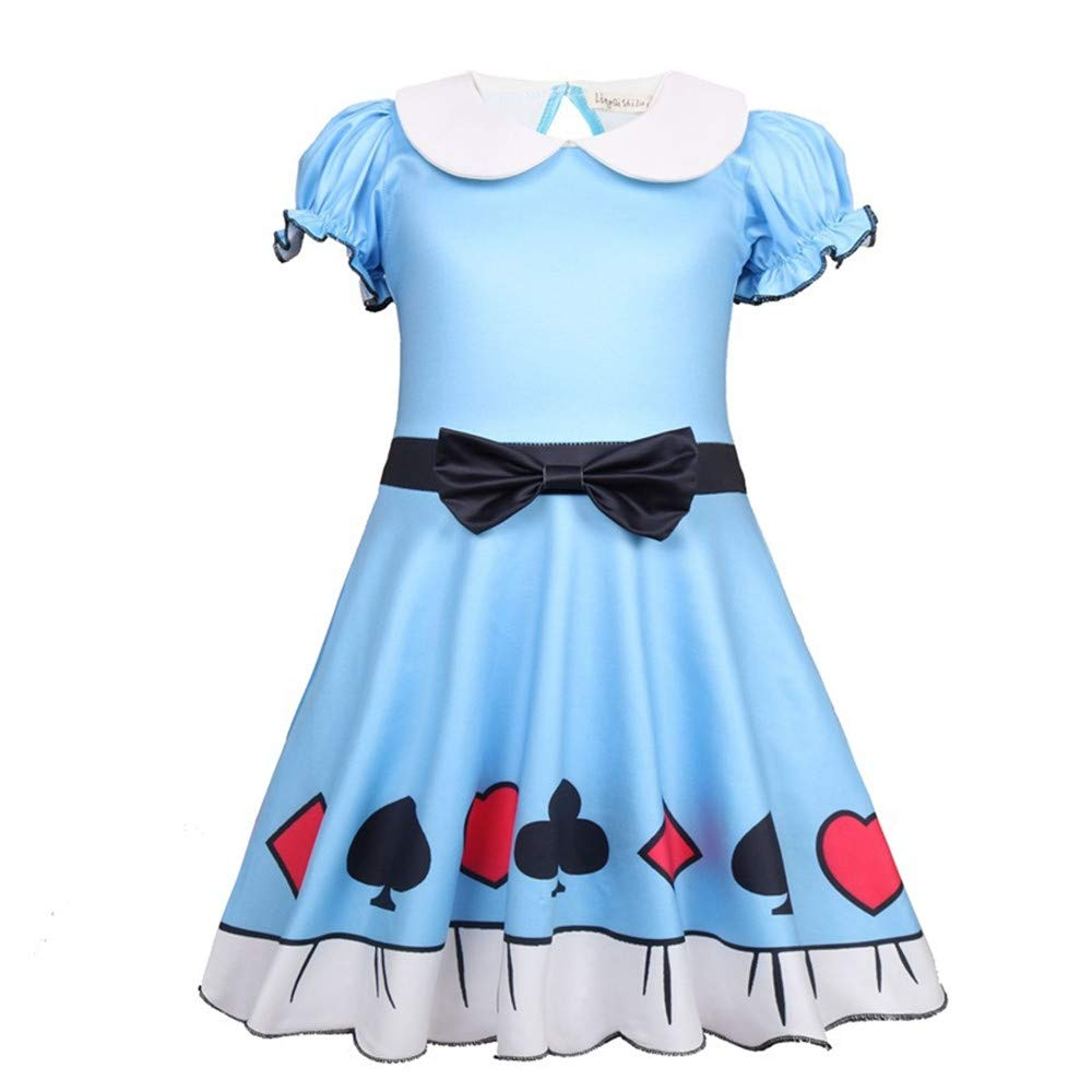 FSBBUT Doll Surprised Girl's Dress Princess Halloween Christmas Party Cosplay Costume