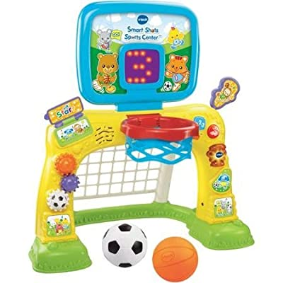 Bright Colors and Cute Design Electronic Smart Shots Sports Center, 50+ Songs, Multicolor: Toys & Games