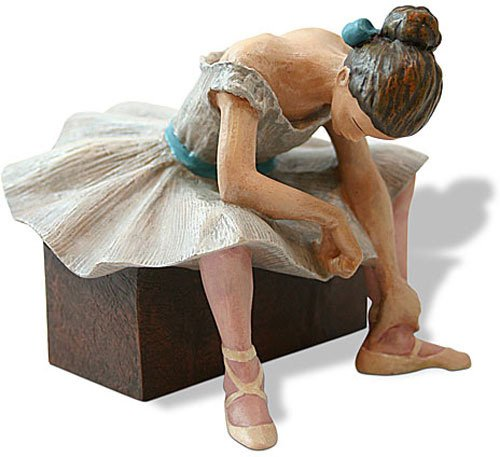 - Parastone Museum L'attente The Waiting Ballerina Statue (1882) by Degas
