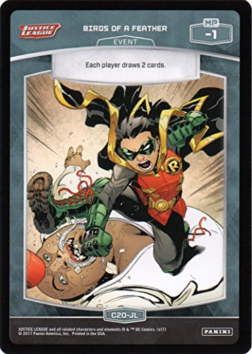 2017 Meta X Justice League (Panini)#C20JL Birds of a Feather C