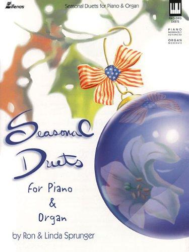 Seasonal Duets for Piano and Organ (Lillenas Publications) (Piano Organ Duets)