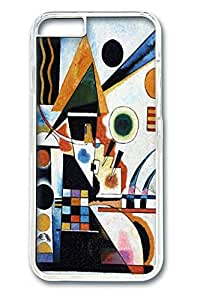 iPhone 6 Case and Cover Balancement Kandinsky PC case Cover for iPhone 6 transparent