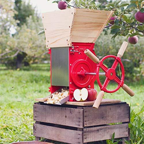 OKSLO Apple & fruit crusher - Hopper Fruit