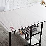 Rotary Cutting Mat Self Healing for Any Table Protection Hobby Board Quilt Fabric Doing Crafts Sewing Modelling Quilting Home Projects Cutter Pad Grid 59 X 36 Hobby