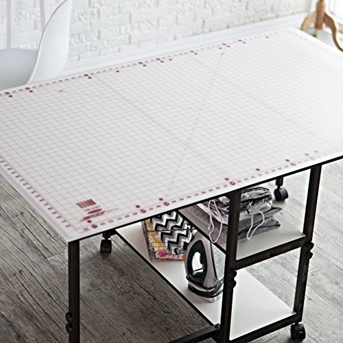 Rotary Cutting Mat Self Healing for Any Table Protection Hobby Board Quilt Fabric Doing Crafts Sewing Modelling Quilting Home Projects Cutter Pad Grid 59 X 36 Hobby by Hobby Quilting Pad (Image #1)
