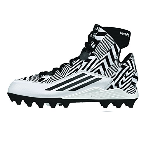 Adidas Filthyquick 2.0 Mid Youth Football Cleats 6 White-...