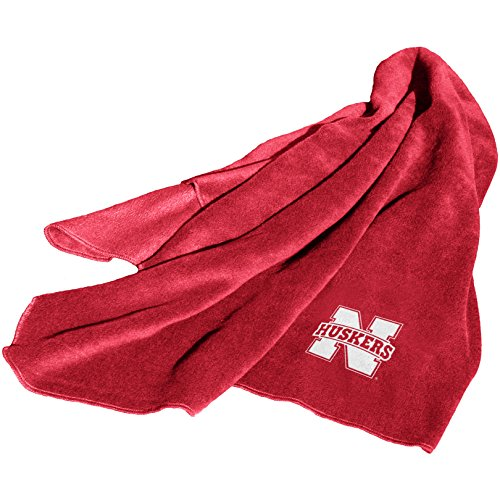 Nebraska Cornhuskers Fleece Throw