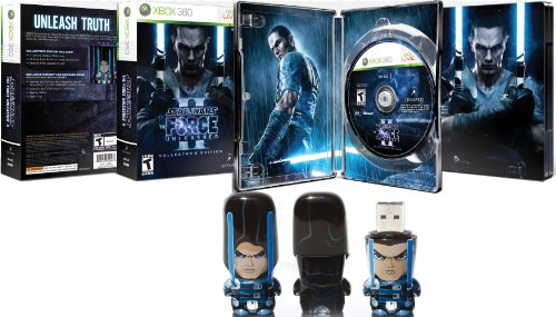 Star Wars: The Force Unleashed II Collector's Edition -Xbox (Star Wars The Force Unleashed 2 Costumes And Lightsabers)