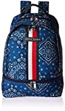 Tommy Hilfiger Women's American Bandana Backpack Blue One Size