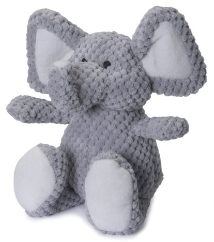 goDog Checkers Elephant With Chew Guard Technology Tough Plu