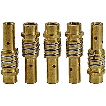 MB 15 AK MAG Contact boquilla 140,0008 Gas boquilla 145,0075 boquilla Holder 002,0078 64pcs