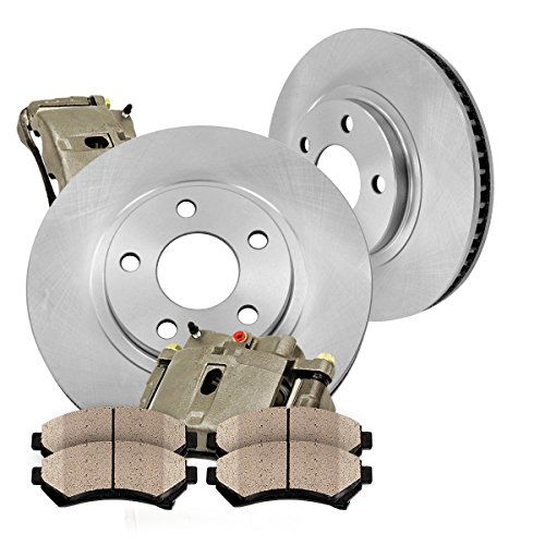 iginal Calipers + [2] OE Rotors + [4] Low Dust Ceramic Brake Pads (Cobra Rear Caliper)