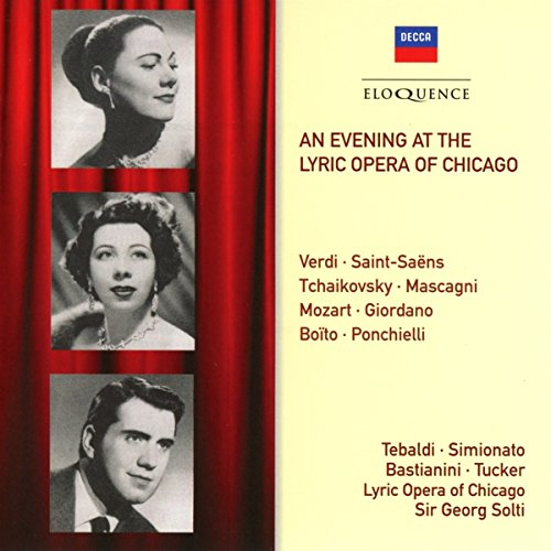 : Evening at the Lyric Opera of Chicago